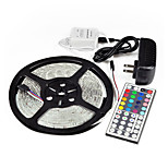 5M 44Key IR 5050 SMD RGB Flexible 300 LED Light Strip &Remote & 5APower(DC12V)