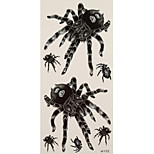 1 Tattoo Aufkleber Tier Serie spiders Flash-Tattoo Temporary Tattoos