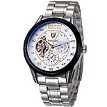 Tevise Mens Watch 8378 Automatic Mechanical Steel Band Wrist Watch