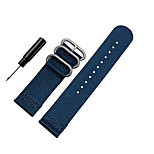 20mm Nylon Fabric MOD Watch Strap Band for Samsung Gear S2 Classic