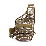 15 L Hiking & Backpacking Pack Camping & Hiking Outdoor Waterproof / Wearable Coffee / Black / Camouflage Canvas other