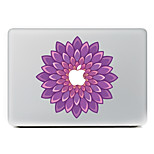 Violet Flower Decorative Skin Sticker Decal for MacBook Air/Pro/Pro with Retina