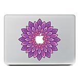 fiore viola pelle decorativa decalcomania adesivo per MacBook Air / Pro / Pro con retina