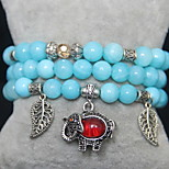 Bracelet Chain Bracelet Crystal Circle Fashion Casual Jewelry Gift Light Blue1pc