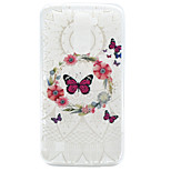 Butterfly Pattern TPU Material Phone Case for LG K10