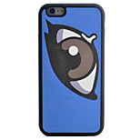 Eye Pattern Silk Material Pattern TPU Phone Case For iPhone 6s 6 Plus