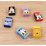 Disney Cute Cartoon 6 Loaded Rubber