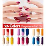 Nagellack UV Gel 7ml 1 Ablösen / Glitzer / UV Farbgel / schimmernd / Gelee / NEUTRAL Tränken weg von Long Lasting