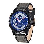 Watches Mens Luxury Brand Men's Sport Military Watches Leather Band Date Clock Quartz Wristwatch Relogio Feminino Sale