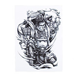 1pc Women Men Body Art Temporary Tattoo Sun Wukong Immortal Monkey Style Design Waterproof Tattoo Sticker HB-315