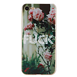 Per Fantasia/disegno Custodia Custodia posteriore Custodia Fiore decorativo Morbido TPU AppleiPhone 7 Plus / iPhone 7 / iPhone 6s Plus/6