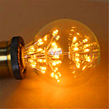 G125LED All Over The Sky Star Edison Light Bulb Decorative Fashion 220V 2W 2300K E27 Warm Yellow