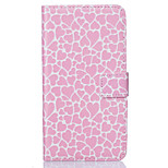 PU Leather Material Heart-Shaped Pattern Painting Pattern  Phone Cases for Sony Xperia X/XP/Z5/Z5 Mini