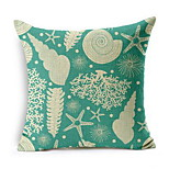 Marine Fish Whale Seashells Hold Cotton Linen Cushions Shop