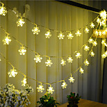 100-LED 10M Snow Light Waterproof  Plug Outdoor Christmas Holiday Decoration Light LED String Light