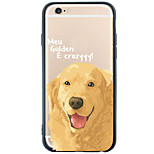 Pattern Dog TPU Acrylic Soft Case Back Cover For Apple iPhone 6s Plus/6 Plus/iPhone 6s/6/iPhone SE/5s/5