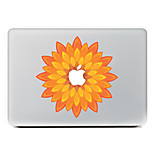 Orange Flower Decorative Skin Sticker Decal for MacBook Air/Pro/Pro with Retina
