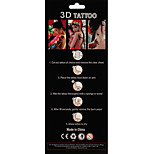 1 Tattoo Aufkleber Totem Serie totem Flash-Tattoo Temporary Tattoos