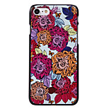 Eight Flowers Pattern High Quality PC Material Phone Shell For iPhone 7 7 Plus 6S 6Plus SE 5