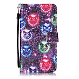 Small monster Pattern PU Leather Lanyard phone Case For LG K7 LG LS775/STYLUS2