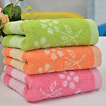 1 PC Full Cotton Hand Towel 13 by 29 inch Floral Pattern Strong Water Absorption Capacity