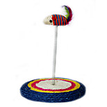 Cat Toy Pet Toys Interactive / Teaser Scratch Pad / Woven Mouse Sisal Random Color