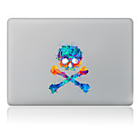 Skull Decorative Skin Sticker for MacBook Air/Pro/Pro with Retina