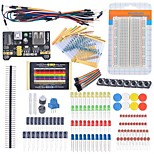Arduino Starter Beginner Kit Breadboard Cable Resistor Capacitor LED Potentiometer for Arduino Learning Kit