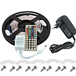 KWB 3528 LED RGB  Strip Light 300leds  44key IR Remote Control Power Supply Perfect for all kinds of decoration styles