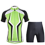 PaladinSport Women Cycyling Jersey  Shorts Suit DT713 Dark Green