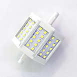 R7S 78mm 30x 2835SMD 6W Warm White / Cool White 600LM 220Beam Horizontal Plug Lights  Flood Light AC85-265V