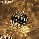 20-llevado de la estrella de 2,5 m de luz enchufe impermeable al aire libre de la decoración de luces navideñas Navidad llevó la luz de la