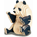 the panda wooden children's building blocks toys