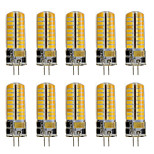 3 G4 Luces LED de Doble Pin T 72 SMD 2835 460 lm Blanco Cálido / Blanco Fresco Decorativa AC 12 V 10 piezas