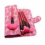 18 Makeup Brushes Set Nylon Professional / Travel / Full Coverage / Synthetic / Eco-friendly / Portable Wood Face / Eye / Lip Others