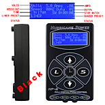 Solong tattoo Sale! Tattoo Power Supply Hurricane Digital LCD Display Black Color P139-1