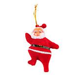 Santa Claus 4 Inch Pendant 2 PCS