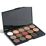 15 Eyeshadow Palette Dry / Mineral Eyeshadow palette Powder Set Daily Makeup / Halloween Makeup / Party Makeup