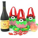 natal sacos do presente do xmas bolsas elf natal para decorações de Natal do tipo bonito sacos de doces de presente sacos-1pcs