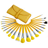 23 Makeup Brushes Set Synthetic Hair Professional / Portable Wood Face / Eye / Lip