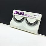 Full Strip Lashes Eyes Thick Handmade mink hair eyelash Black Band 0.10mm 12mm LD213