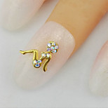 10 Nail Art Décoration strass Perles Maquillage cosmétique Nail Art Design