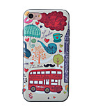 Bus Pattern Painted Three-Dimensional Relief TPU Material Phone Shell For iPhone 7 7 Plus 6 6 Plus