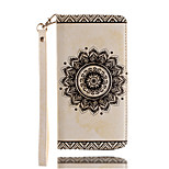 For Card Holder / Wallet Case Full Body Case Mandala Hard PU Leather for iPhone 7 Plus / iPhone 7