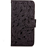 For iPhone 7 Case / iPhone 7 Plus Case Wallet / Card Holder / with Stand / Flip / Pattern Case Full Body Case Solid Color Hard PU Leather