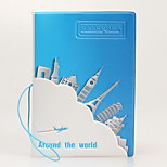 Fashion exquisite PVC card case Travel Passport Holder & ID Holder Waterproof / Dust Proof / Portable Travel Storage PU Leather