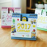 Mini Cute Cartoon Desktop Office Notebook Calendar