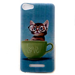 For Wiko  Lenny3 Lenny2 U FEEL  U FEEL Lite  Sunny Jerry Phone Case Cover kitten Pattern Painted TPU Material