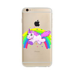 Rainbow Unicorn TPU Soft Case Cover for apple iPhone 7 7 Plus iPhone 6 6 Plus iPhone 5 5C iPhone 4
