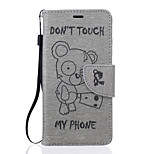 For Huawei Case Wallet / Card Holder / with Stand / Embossed Case Full Body Case Cartoon Hard PU Leather Huawei Huawei P9 / Huawei P9 Lite